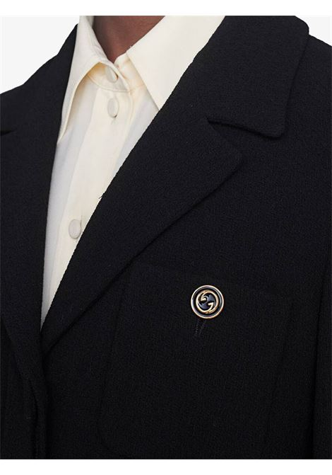 Black jacket GUCCI   JACKETS   619253ZJW571000