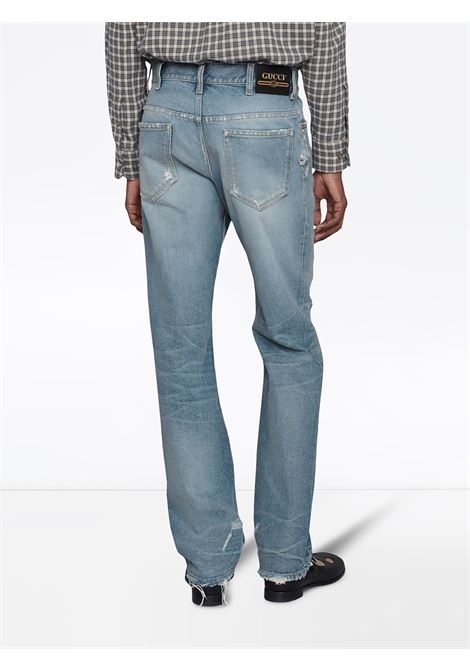 Jeans blu GUCCI | JEANS | 623953XDBEU4009