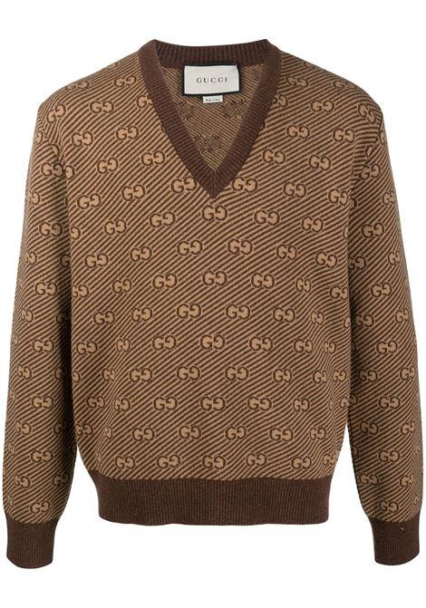 Brown jumper GUCCI |  | 626643XKBFZ2381