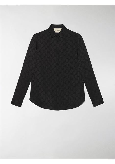 Camicia nera GUCCI | CAMICIE | 627773ZAEJF1000