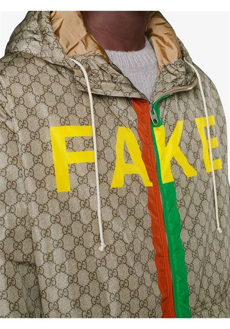 Beige jacket GUCCI | JACKETS | 636391ZAFKX7294