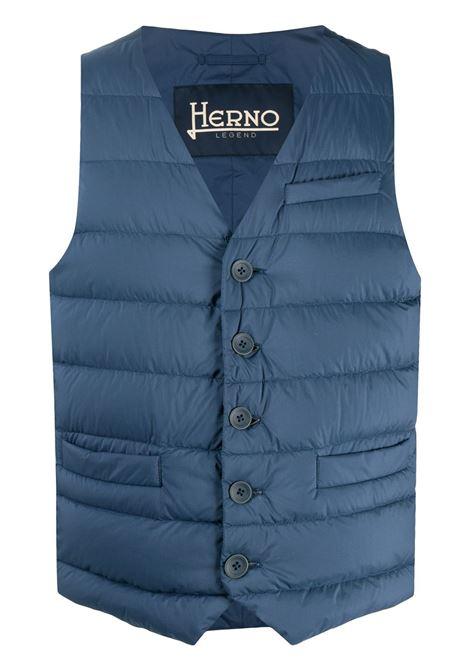 Gilet azzurro HERNO | GILET PIUMINO | PI002ULE192889206