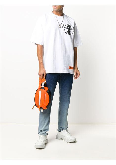 White t-shirt HERON PRESTON |  | HMAA019F20JER0040110