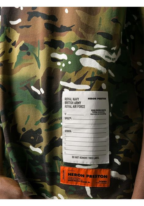 Print T-shirt HERON PRESTON |  | HMAA019F20JER0115901