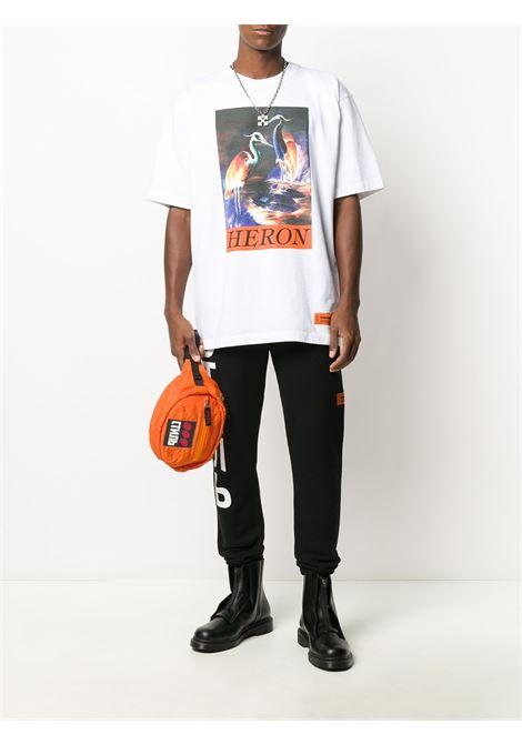 T-shirt bianca HERON PRESTON | T-SHIRT | HMAA020F20JER0020120