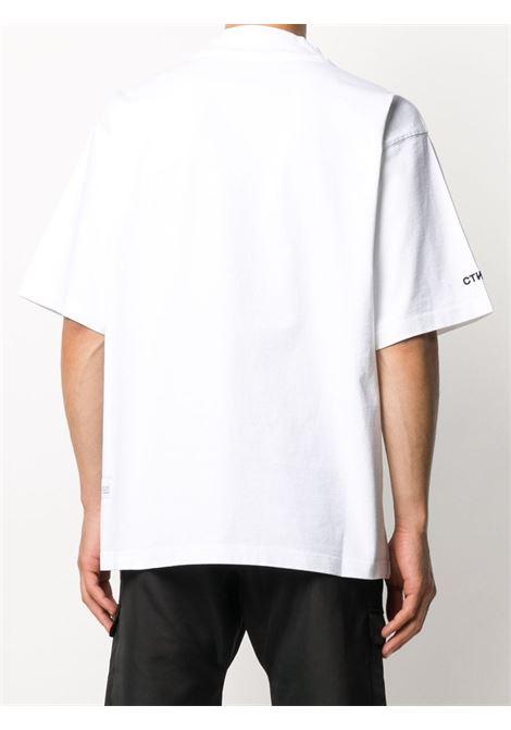 White t-shirt HERON PRESTON |  | HMAA021F20JER0010110
