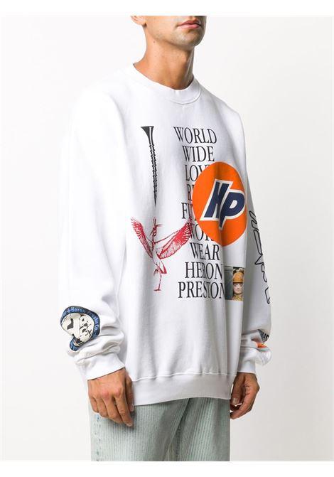 White sweatshirt HERON PRESTON |  | HMBA014F20JER0020110
