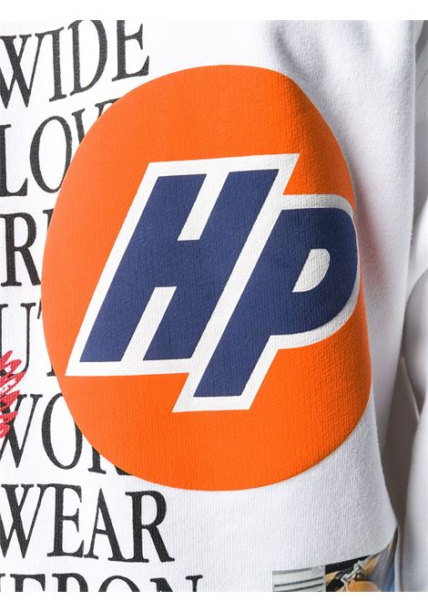 Felpa bianca HERON PRESTON | FELPE | HMBA014F20JER0020110