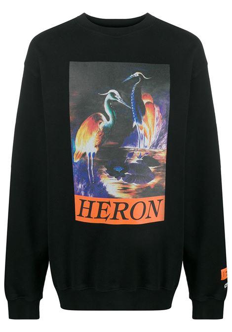 Felpa nera HERON PRESTON | FELPE | HMBA014F20JER0051020