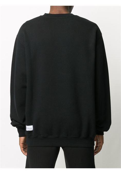 Black sweatshirt HERON PRESTON |  | HMBA014F20JER0051020