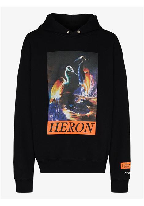 Black sweatshirt HERON PRESTON |  | HMBB011F20JER0021020
