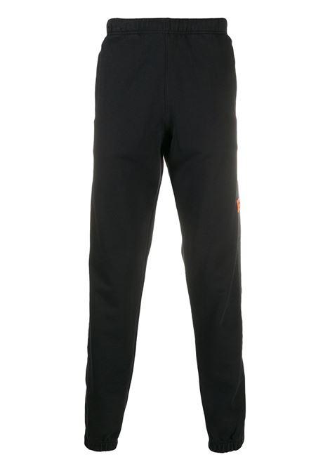 Pantalone nero HERON PRESTON | PANTALONI | HMCA029F20JER0011000