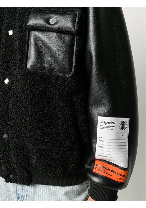 Giacca nera HERON PRESTON | BOMBER | HMEA050F20FAB0011000