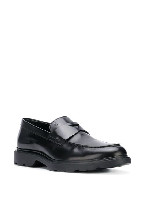 Black loafers HOGAN |  | HXM3930X2306Q6B999