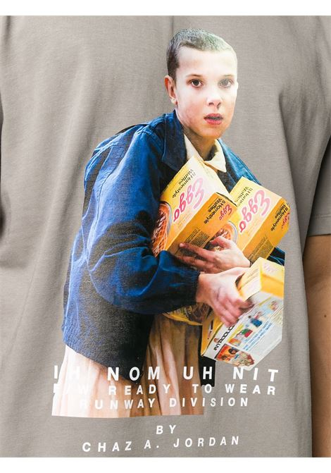 Grey t-shirt IH NOM UH NIT | T-SHIRT | NUW20234019