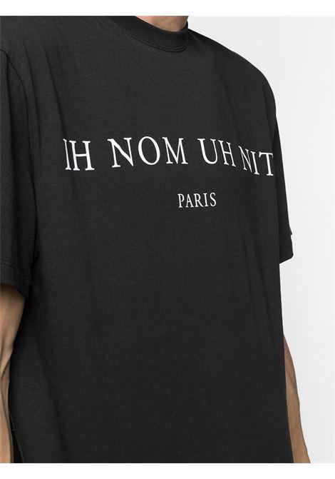 Black t-shirt IH NOM UH NIT | T-SHIRT | NUW20271009