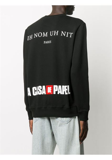 Black sweatshirt IH NOM UH NIT |  | NUW20278009