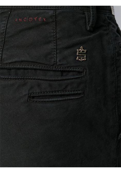 Black trousers INCOTEX 5 TASCHE |  | 11S10340611990
