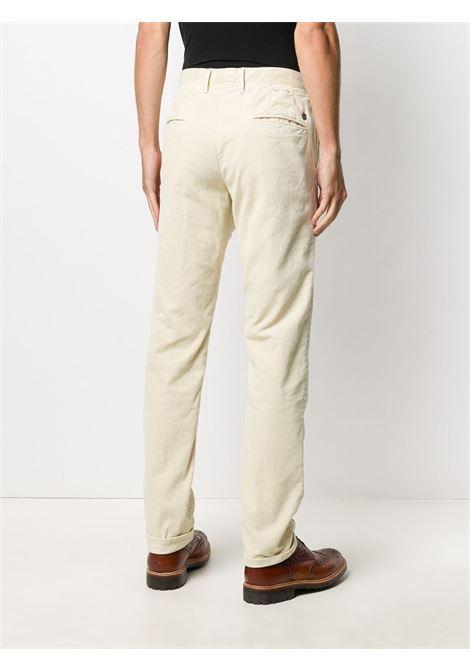 Beige trousers INCOTEX 5 TASCHE |  | 12S10040181033