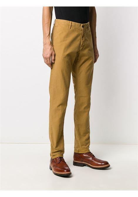 Pantalone color mostarda INCOTEX 5 TASCHE | PANTALONI | 12S10040611520