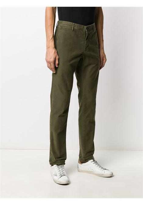 Green trousers INCOTEX 5 TASCHE |  | 12S10040611739