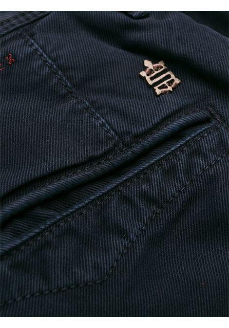 Pantalone blu INCOTEX 5 TASCHE | PANTALONI | 12S10040611825