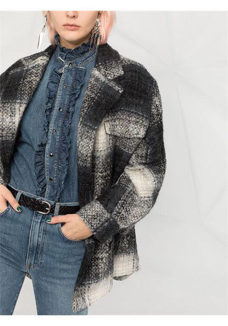 Cappotto grigio/nero IRO | CAPPOTTI | WM01ABHOAGRY01