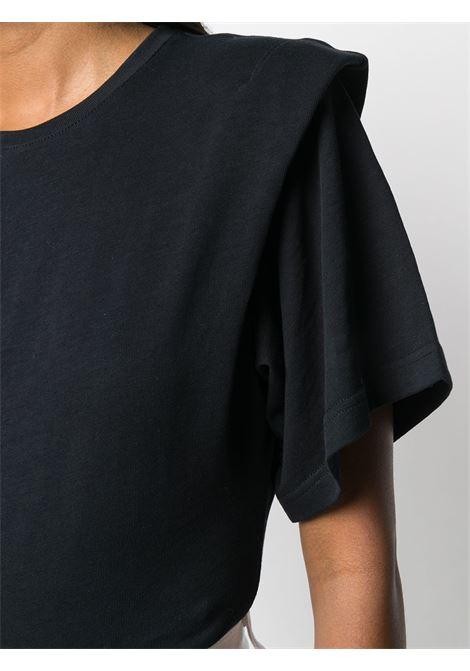 T-shirt nera IRO | T-SHIRT | WM19BELLYBLA01