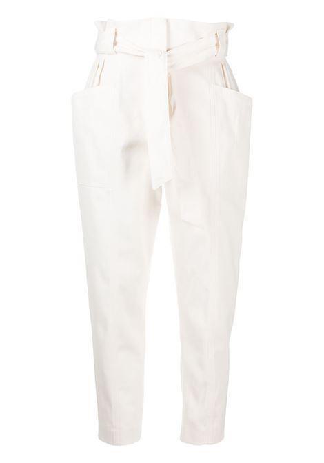 Pantalone bianco IRO | PANTALONI | WM23TOMORPIN02
