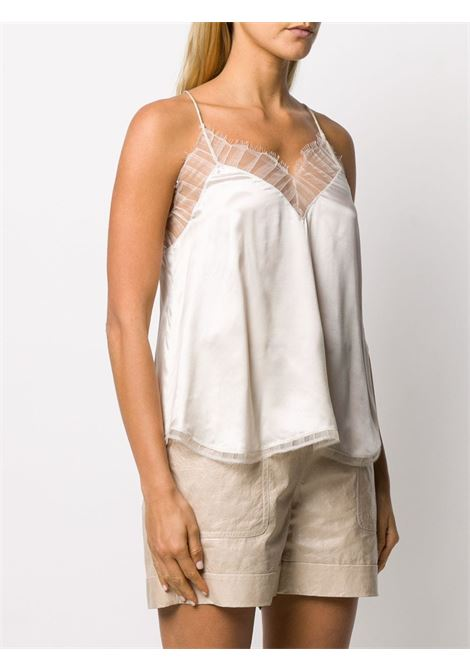 White camisole IRO |  | WP16BERWYNECR01