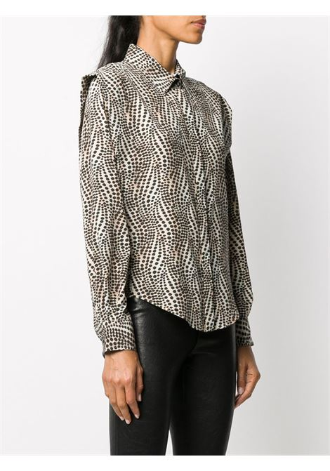 Beige/black shirt ISABEL MARANT |  | HT196620H042I90BE