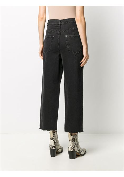 Pantalone nero ISABEL MARANT | PANTALONI | PA174820A022I02FK