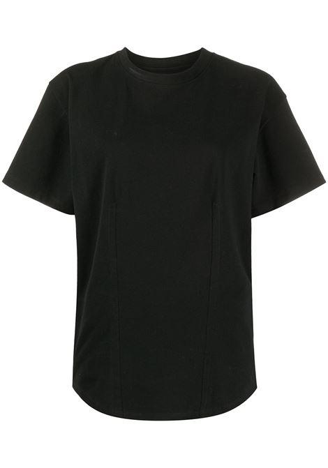 T-shirt nera ISABEL MARANT | T-SHIRT | TS064320A036I01BK