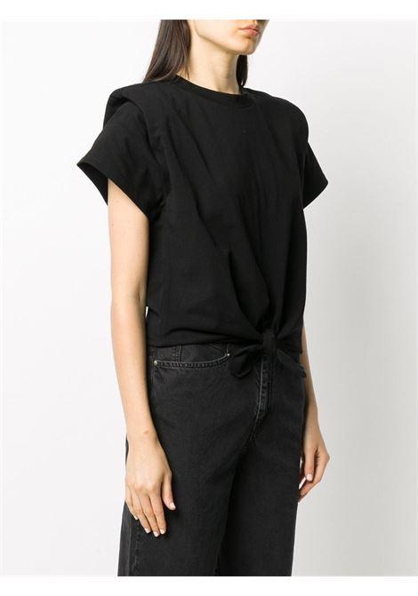 T-shirt nera ISABEL MARANT | T-SHIRT | TS074920A036I01BK