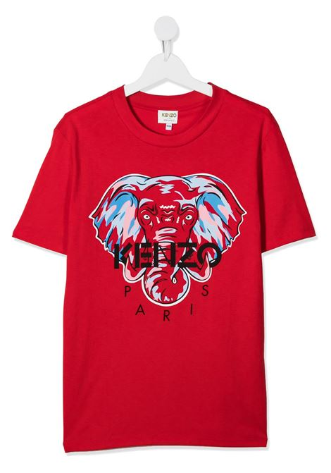 T-shirt rossa KENZO | T-SHIRT | KR10638T03