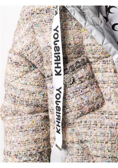 Giubbino bianco/multicolore KHRISJOY | GIUBBOTTI | BFPW025TW1CMB01