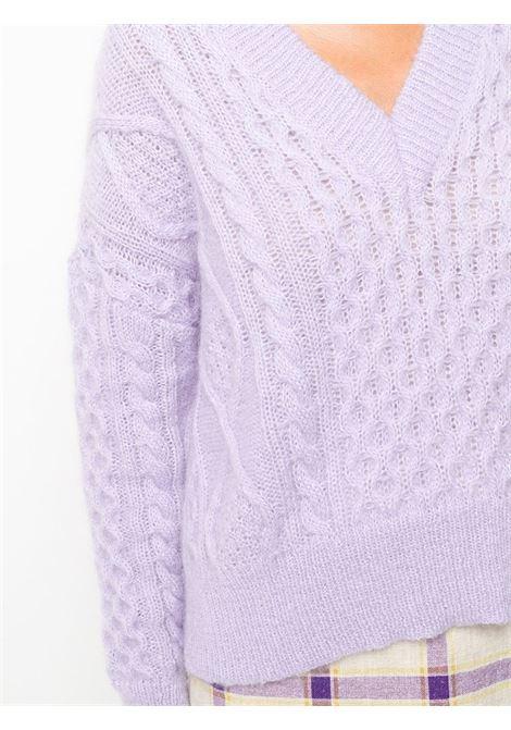 Maglia lilla LANEUS | MAGLIONE | MGD543LILLA