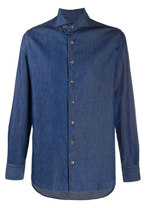 Camicia blu LARDINI | CAMICIE | IMDIEGOIMC1276802A