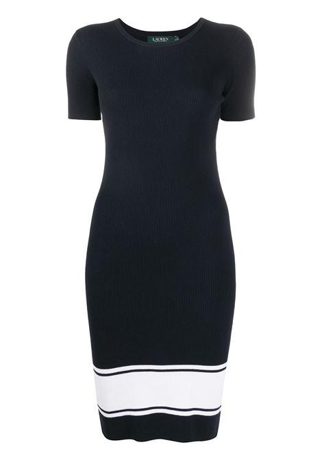 Dark blue/white dress LAUREN RALPH LAUREN | DRESS | 200800511001