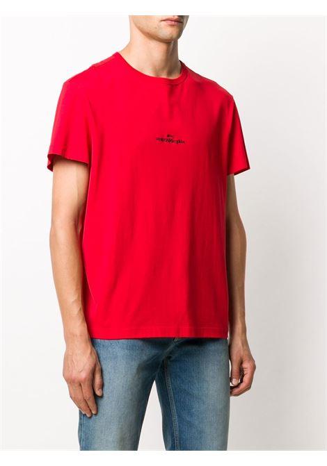 T-shirt rossa MAISON MARGIELA | T-SHIRT | S30GC0701S22816314