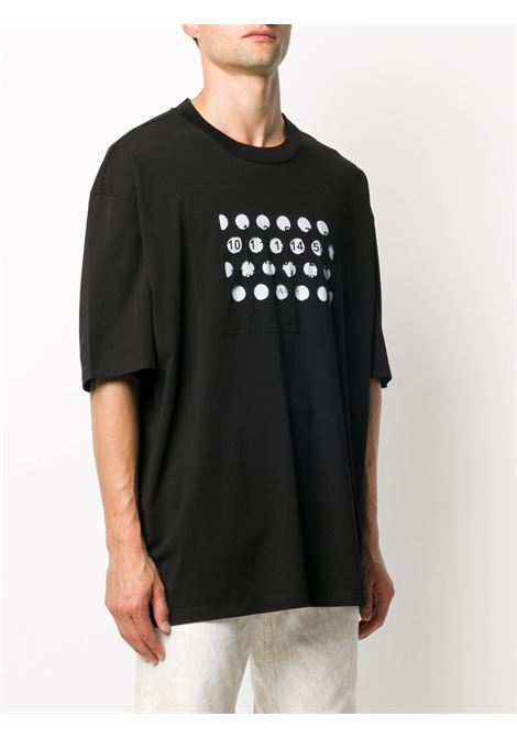 T-shirt nera MAISON MARGIELA | T-SHIRT | S50GC0625S22816900