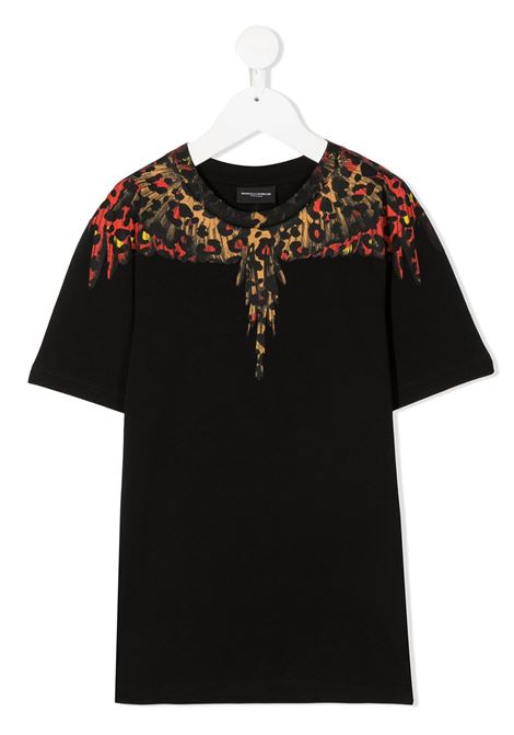 T-shirt nera MARCELO BURLON | T-SHIRT | 11000010B010