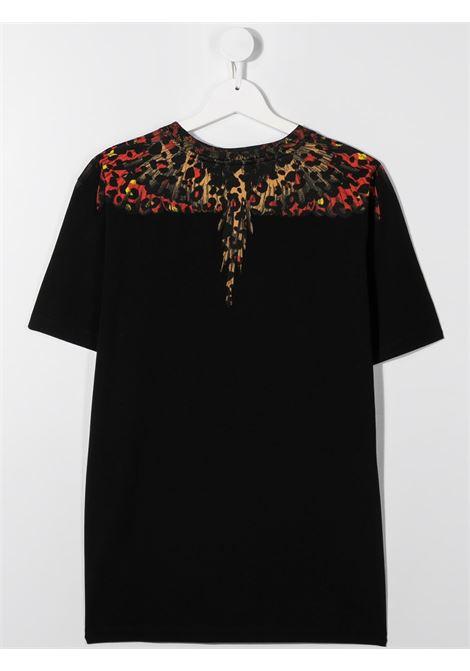 T-shirt nera MARCELO BURLON | T-SHIRT | 1100T0010B010