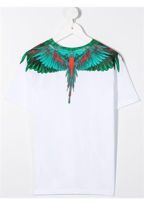 T-shirt bianco MARCELO BURLON | T-SHIRT | 11080010B000
