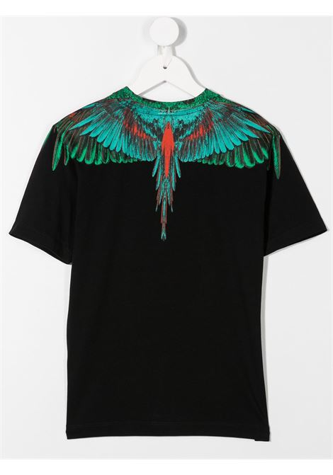 T-shirt nera MARCELO BURLON | T-SHIRT | 11080010B010