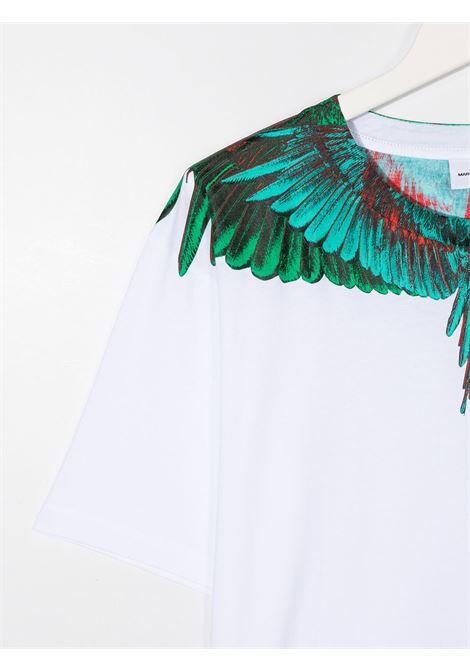 T-shirt bianco MARCELO BURLON | T-SHIRT | 1108T0010B000