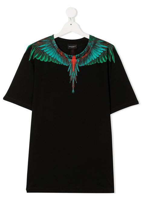 T-shirt nera MARCELO BURLON | T-SHIRT | 1108T0010B010