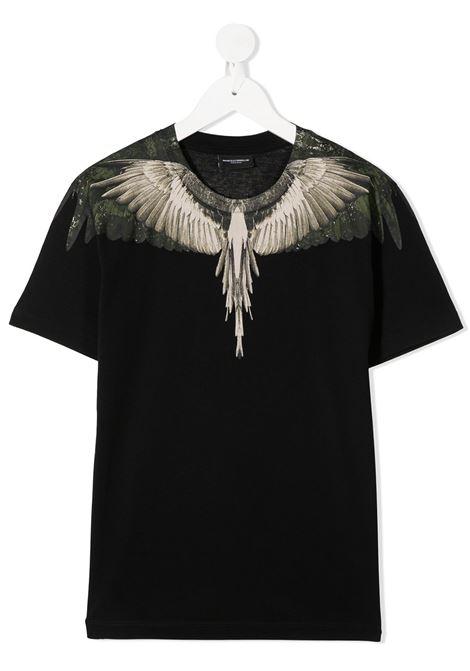 T-shirt nera MARCELO BURLON | T-SHIRT | 11150010B010
