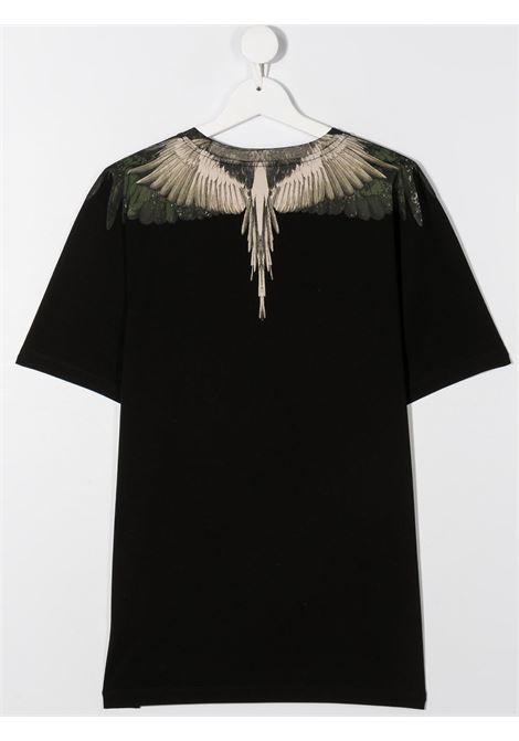 T-shirt nera MARCELO BURLON | T-SHIRT | 1115T0010B010