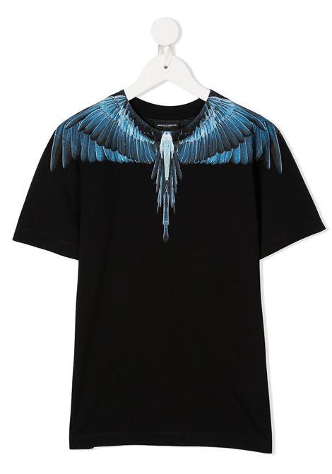 T-shirt nera MARCELO BURLON | T-SHIRT | 11180010B010
